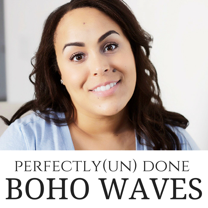 Tiresome Perfectly UnDone Hair Tutorial- Find out how to get your hair out of the summer humidity rut and into a beach boho perfectly undone hairstyle that will literally last all day long.