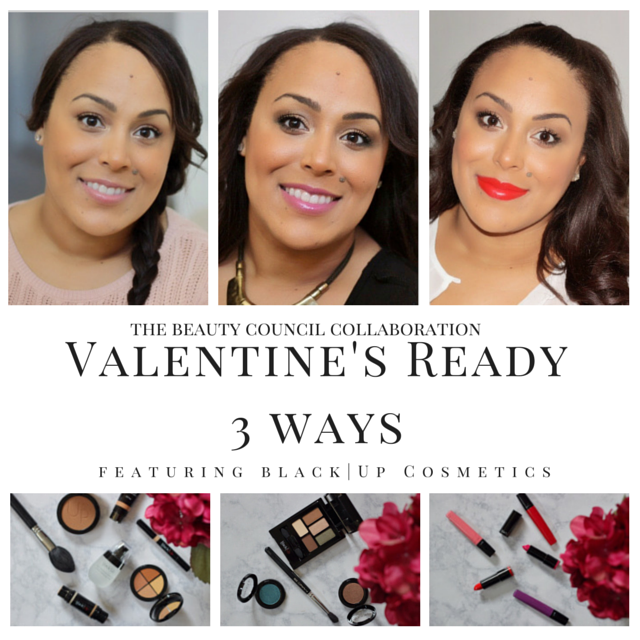 The Beauty Council- beauty- makeup-3 Valentines Day Looks-Black|Up Cosmetics