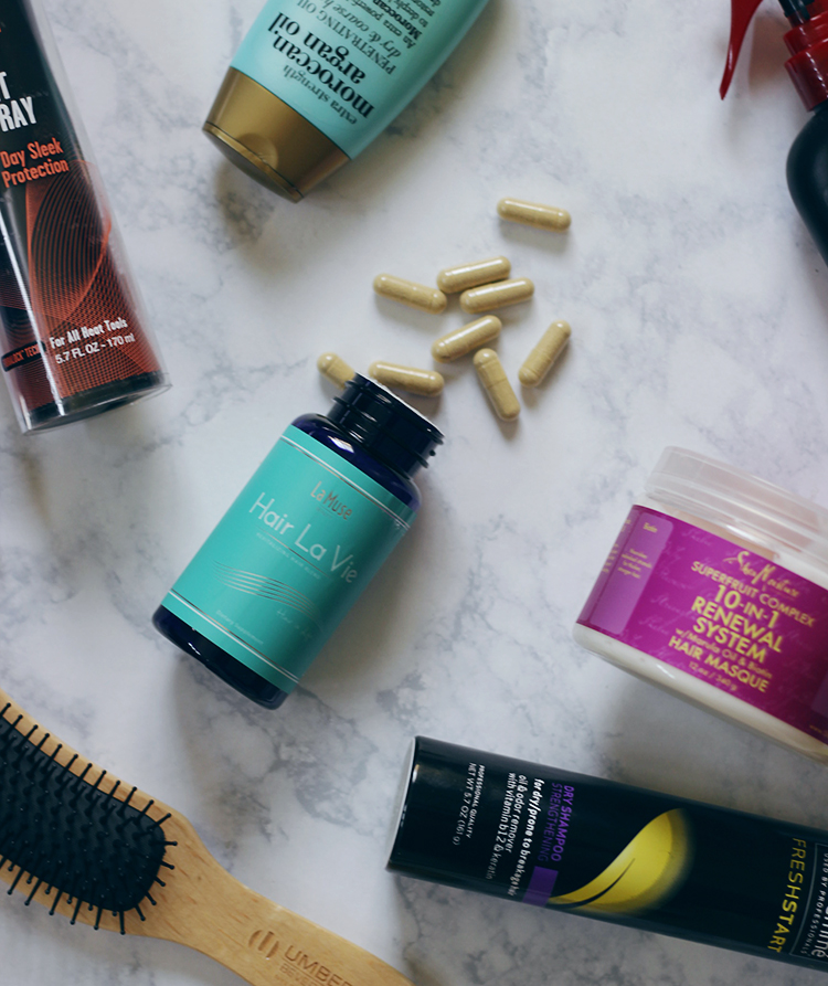 Ever wanted longer, thicker, healthier hair? Then you can to the right spot, Hair La Vie vitamins are a hair growing game changer. Find out why now- Hair La Vie- Healthy Hair- MakeupLifeLove