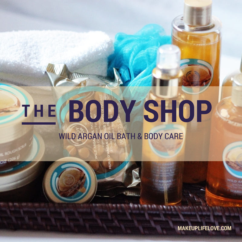 The Body Shop-Wild Argan- Body care-bath-body butter-amazing